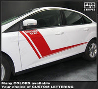 Ford Focus 2011-2018 Hockey Style Side Accent Stripes