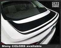 2011 2012 2013 2014 Ford Focus hood  trunk Decals Stripes 122551585412-2