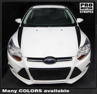 2011 2012 2013 2014 Ford Focus hood Decals Stripes 152615256363-1