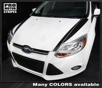 2011 2012 2013 2014 Ford Focus hood Decals Stripes 152588456723-1