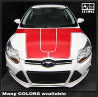 2011 2012 2013 2014 Ford Focus hood  side  door Decals Stripes 152588449596-2