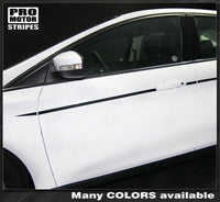 2011 2012 2013 2014 2015 2016 2017 2018 Ford Focus side  door Decals Stripes 152615278146-2