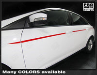 2011 2012 2013 2014 2015 2016 2017 2018 Ford Focus side  door Decals Stripes 122551591279-2