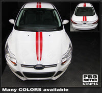 2011 2012 2013 2014 Ford Focus hood  trunk  roof Decals Stripes 152588453895-1