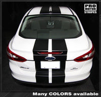 2011 2012 2013 2014 Ford Focus hood  trunk  bumper  roof Decals Stripes 122552681599-2