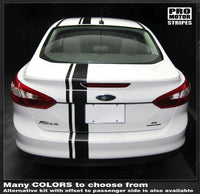 2011 2012 2013 2014 Ford Focus hood  trunk  bumper  roof Decals Stripes 152588450853-2