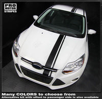 2011 2012 2013 2014 Ford Focus hood  trunk  bumper  roof Decals Stripes 152588450853-1