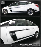 Ford Focus 2011-2018 Side C-Stripes BOSS 302 Style Decals