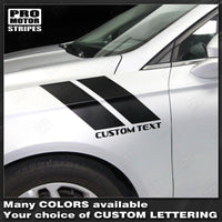 2013 2014 2015 2016 2017 2018 2019 Ford Fusion side Decals Stripes 122551591288-1