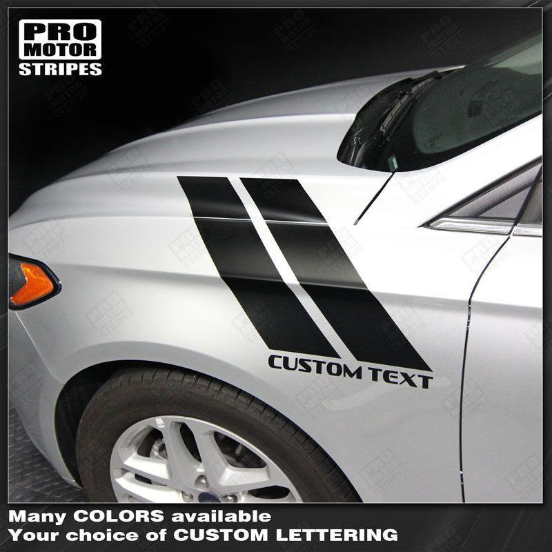 2013 2014 2015 2016 Ford Fusion side Decals Stripes 132229432236-1