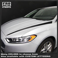 2013 2014 2015 2016 Ford Fusion hood Decals Stripes 132229432364-1