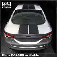2013 2014 2015 2016 Ford Fusion hood  trunk  roof Decals Stripes 152616626665-2