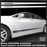 FORD FUSION 2013-2019 Rocker Panel Accent Side Stripes