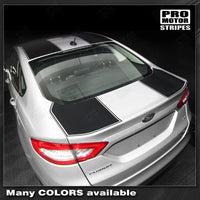 2013 2014 2015 2016 Ford Fusion hood  trunk  roof Decals Stripes 132229419770-3