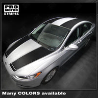 2013 2014 2015 2016 Ford Fusion hood  trunk  roof Decals Stripes 132229419770-1