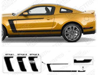 Ford Mustang 2005-2009 BOSS 302 Style Reverse C-Stripes Auto Decals - Pro Motor Stripes