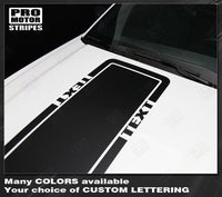2005 2006 2007 2008 2009 2010 2011 2012 2013 2014 2015 2016 2017 Ford Mustang hood Decals Stripes 152631525916-4
