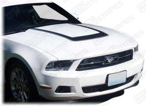 2005 2006 2007 2008 2009 2010 2011 2012 2013 2014 Ford Mustang hood Decals Stripes 132229429435-1