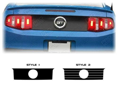 Ford Mustang 2005-2014 Rear Deck Trunk Accent or Blackout Decal Auto Decals - Pro Motor Stripes