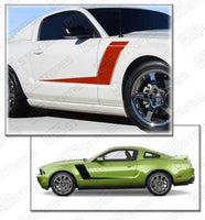 2005 2006 2007 2008 2009 2010 2011 2012 2013 2014 Ford Mustang side  door Decals Stripes 122551589117-1