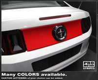2005 2006 2007 2008 2009 2010 2011 2012 2013 2014 Ford Mustang trunk Decals Stripes 132229432294-1