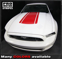 2005 2006 2007 2008 2009 2010 2011 2012 2013 2014 2015 2016 2017 Ford Mustang hood Decals Stripes 152631606077-2
