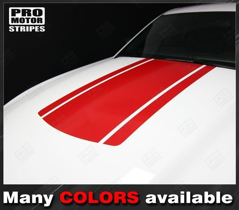 2005 2006 2007 2008 2009 2010 2011 2012 2013 2014 2015 2016 2017 Ford Mustang hood Decals Stripes 152631606077-1