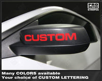 Ford Mustang 2005-2019 Side Mirror Highlight Lettering Decals