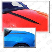 2010 2011 2012 Ford Mustang hood Decals Stripes 132279633056-1