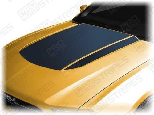 2010 2011 2012 Ford Mustang hood Decals Stripes 152588451876-1