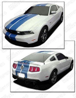 2010 2011 2012 Ford Mustang hood  trunk  bumper  roof Decals Stripes 152630202226-1