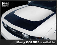 2010 2011 2012 Ford Mustang hood Decals Stripes 122551588143-1