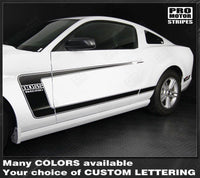 2005 2006 2007 2008 2009 2010 2011 2012 2013 2014 2015 2016 2017 Ford Mustang hood  side  door  rocker panel Decals Stripes 122551579925-4