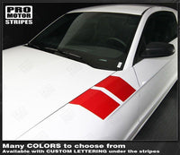 2005 2006 2007 2008 2009 2010 2011 2012 2013 2014 2015 2016 2017 2018 2019 Ford Mustang side Decals Stripes 152588457497-3
