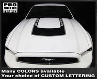 2005 2006 2007 2008 2009 2010 2011 2012 2013 2014 2015 2016 2017 Ford Mustang hood Decals Stripes 152631517894-2