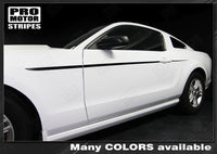 2005 2006 2007 2008 2009 2010 2011 2012 2013 2014 Ford Mustang side  door Decals Stripes 122608659126-2