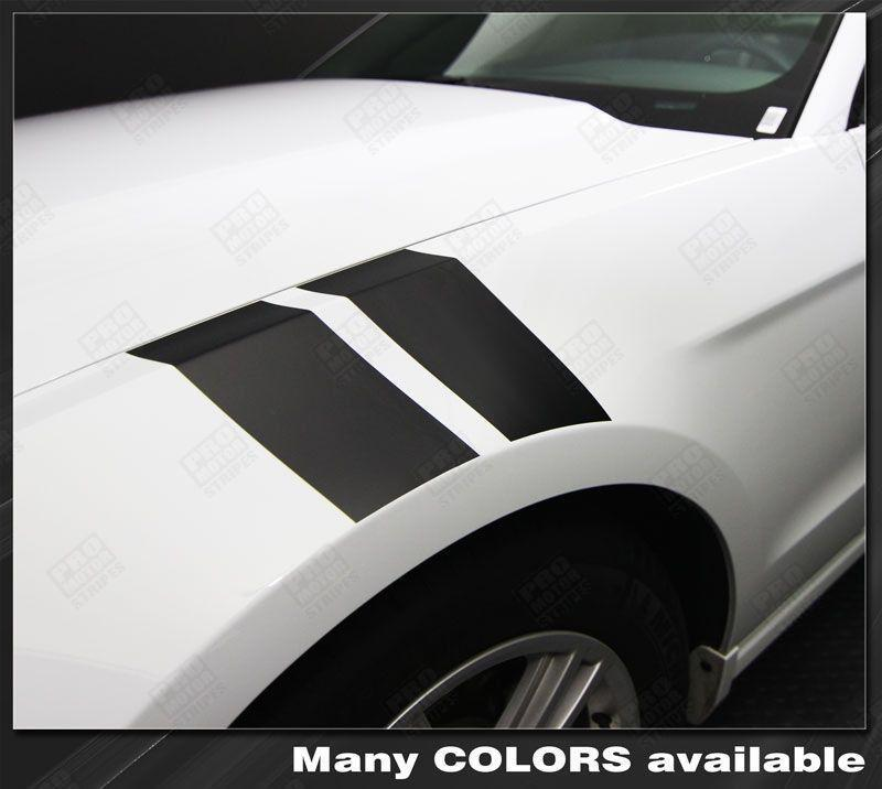 2005 2006 2007 2008 2009 2010 2011 2012 2013 2014 Ford Mustang side Decals Stripes 132229432289-1