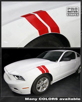 2010 2011 2012 2013 2014 Ford Mustang side Decals Stripes 132277702637-1