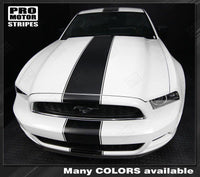 Ford Mustang 2005-2019 Over-The-Top Narrow Center Rally Stripes