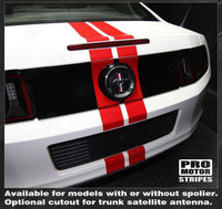 2005 2006 2007 2008 2009 2010 2011 2012 2013 2014 2015 2016 2017 Ford Mustang hood  trunk  bumper  roof Decals Stripes 122551585437-2