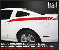2005 2006 2007 2008 2009 2010 2011 2012 2013 2014 Ford Mustang side Decals Stripes 152588457576-1