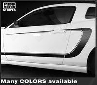 2005 2006 2007 2008 2009 2010 2011 2012 2013 2014 Ford Mustang side  door  rocker panel Decals Stripes 132229428692-2