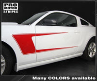2005 2006 2007 2008 2009 2010 2011 2012 2013 2014 Ford Mustang side  door Decals Stripes 152631505939-2