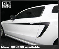 Ford Mustang 2010-2014 Side Accent Stripes Auto Decals - Pro Motor Stripes
