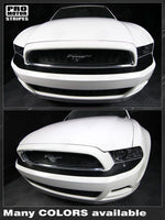 2013 2014 Ford Mustang bumper Decals Stripes 122609989980-2