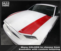 2013 2014 Ford Mustang hood Decals Stripes 132229430467-2