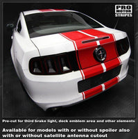 2005 2006 2007 2008 2009 2013 2014 2015 2016 2017 Ford Mustang hood  trunk  bumper  roof Decals Stripes 152588443076-2