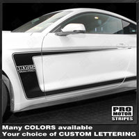 Ford Mustang 2015-2017 & 2005-2009 BOSS 302 Style Side C-Stripes