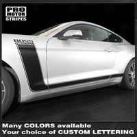 Ford Mustang 2015-2021 BOSS 302 Style Side Stripes