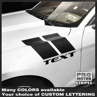 Ford Mustang 2005-2017 Fender Hash Side Accent Stripes